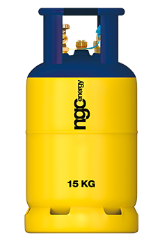 F15 Refillable Forklift Gas with Gauge